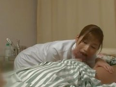 Sex Clinic series (JPN) Chika Eiro is very cute in this hospital video
