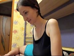 Russian Amateur Webcam Striptease