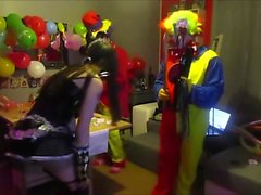 Cam4 2 Clowns Pain With Ohmibod A German Camgirl Kikrak