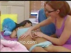 Sleeping Teen Explored By Two Matures