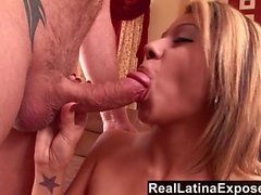 RealLatina Big Titted Latina Bends Over