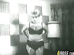 Vintage Video Of A Stripper