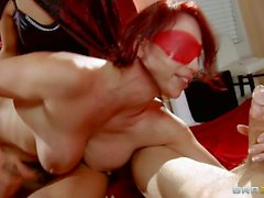 Nicki Hunter gets gangbanged in the sorority house