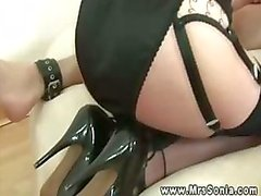 Domina love stocking sluts fuck during her session