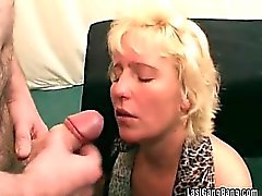 Hot cock banging and cumshot spraying