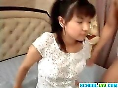 So cute asian teen girl