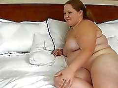 Man fingers and fucks slit of one nasty fat woman