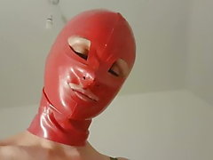 Magic and Asso Latex BDSM sounding British cum in mouth anal