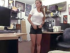 Beautiful Waitress Equals A Hot Fuck In The Pawnshop