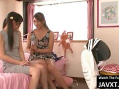 Hot Lesbian Mom And Stepdaughter