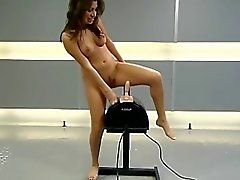Miss Rose gets a Sybian treatment
