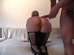 German blonde in latex outfit fuck Ok from 1fuckdatecom