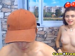 Campus Hottie blir borrad i Doggie Position