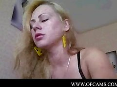 Russian beautiful girl shows her vagina