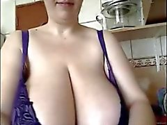Grosses sexy la Colombie in Kitchen