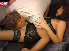 LETSDOEIT - Naughty German Gilf Fucked Hard By Lover