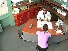 Security cam fucking in fake hospital