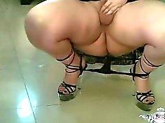 Frau Sexy Video fette Infamous Erotic