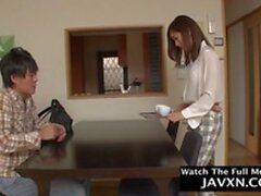 hot japanese mom and shy stepson clip segment 1