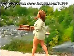 Big titted mature outdoor fucking