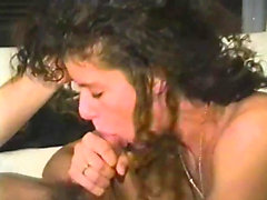 Latina gets fucked in her white lingerie