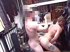 Hard blowjob gays movietures first time Dungeon tormentor wi