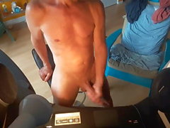 Me And My GreGoRySpLiT BIG COCK FuLL Naked My Fit Papa Körper