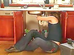 hot milf fuck in kitchen