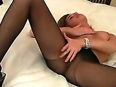 Teen Model En nylons et Escarpins