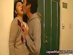 Ayane Asakura mature Asian model has sex part5
