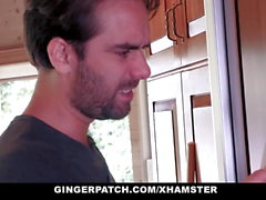 GingerPatch - Stepsis Sucks Cock to Avoid Chores