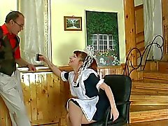 Housemaid getting fucked