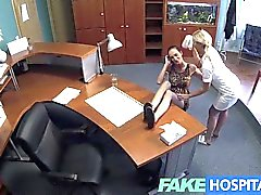 FakeHospital - Nurse and patient lick pussy