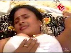 Telugu House Wife First Night Hot Bed Room Scene - cinekingdom