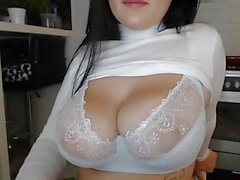 Dicke Titten BBW Chubby Teen 2! CUM! WEBCAM! BOOBS! WANK!