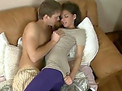 Hot amateur blowjob swallow