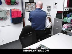 ShopLyfter - Innocent Teen GetsFucked By The Security