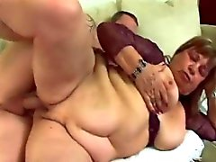 BBW granny pussy fancy meeting with big cock