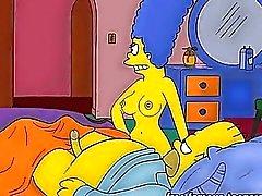 Orgias dibujos animados porno Los Simpson De Orgias Del Hentai Escenas N14366029