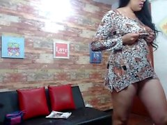 Amateur enfermera striptease webcam