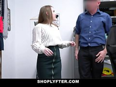 Shoplyfter - Innocent Teen Gets Fucked By The Security