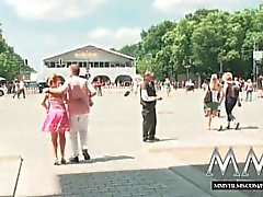 MMVFilms German blonde fucked in public