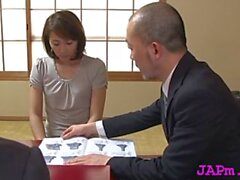 foxy japanese hottie hisae yabe gets nailed nicely