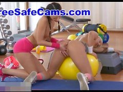 fitnessrooms amazing asses on show before